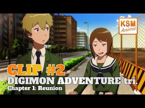 Digimon Adventure tri. Chapter 1: Reunion - Clip 2