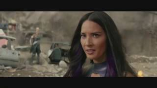X - Men Apocalypse |  Psylocke Vs Beast Extended Fight Scene