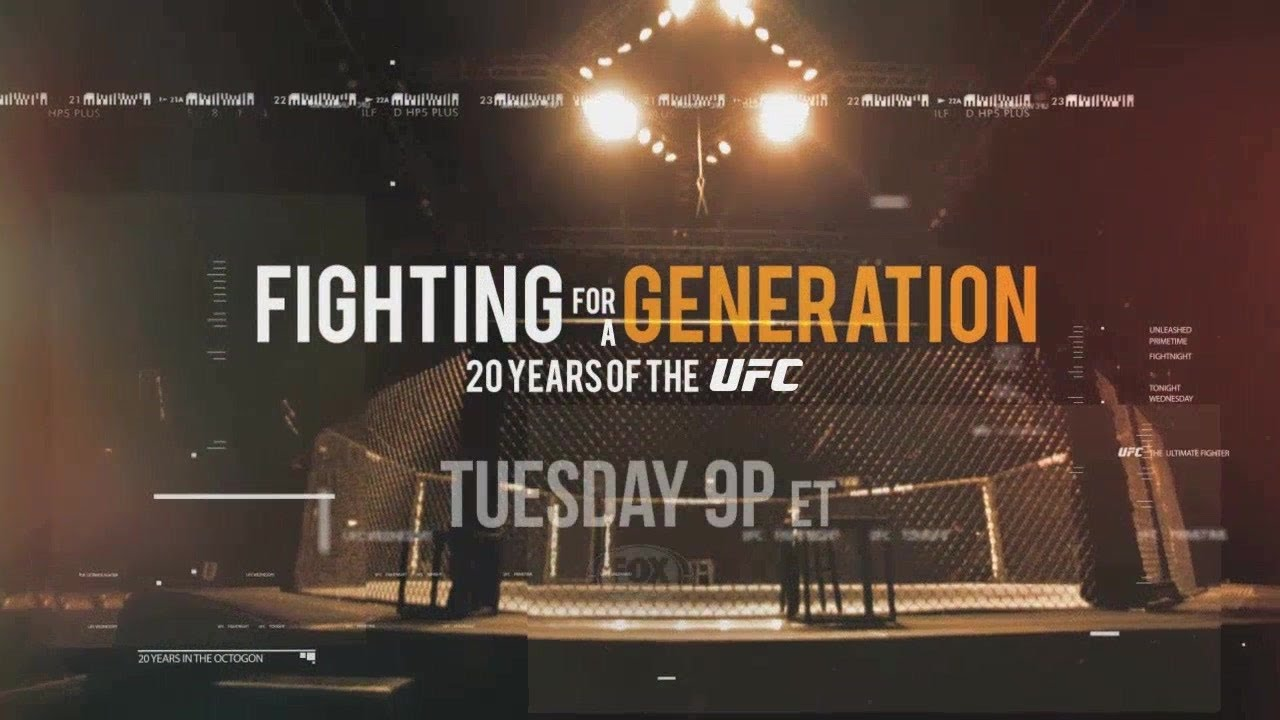 Fighting for a Generation: 20 Years of the UFC - Tuesday on FOX Sports 1