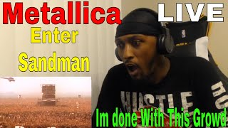 Download First Time Hearing Metallica  (Enter Sandman LIVE in Moscow 91) REACTION