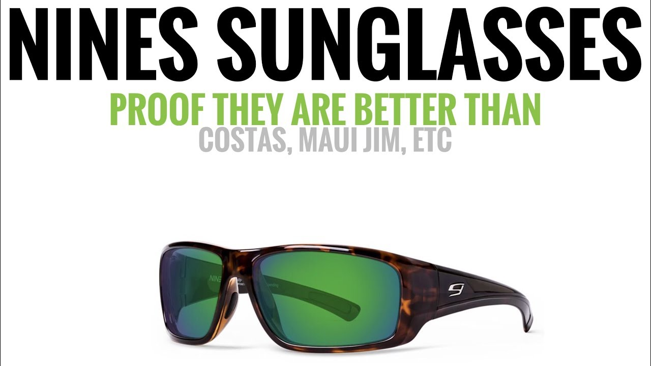 14d1a1e992 BEST SUNGLASSES TO BUY! Comparing Brands   Scientific Testing - YouTube