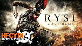 Ryse: Son of Rome - How fast can you die?