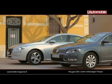 Peugeot 508 contre Volkswagen Passat