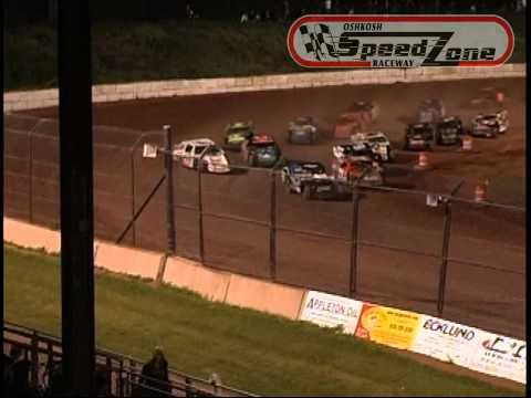 Oshkosh Speedzone Raceway - July 5, 2013 - IMCA Modified Feature