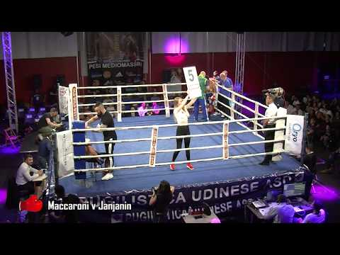 BOXE Luca Maccaroni V Janjanin FULL MATCH