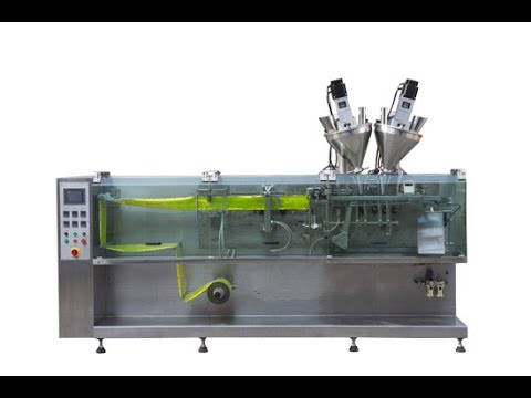 Horizontal Form Fill Seal Packaging Machine for powder Sachet ...