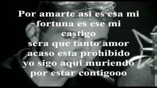 """CRISTIAN CASTRO """"Por Amarte Asi"""" (CON LETRA)"""