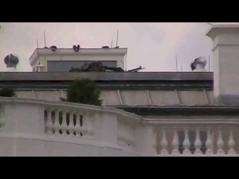 Counter Sniper On Rooftop Of White House Youtube
