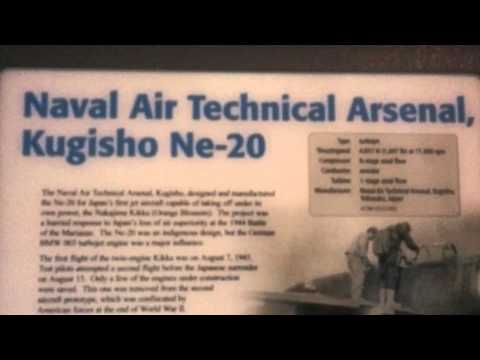 Ishikawajima Ne-20 Japan first Jet engine based on BMW 003  WWII -1945