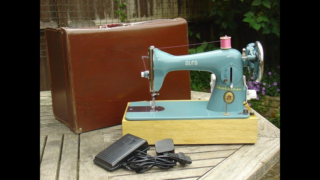 Alfa 42 Challenge Sewing Machine Youtube