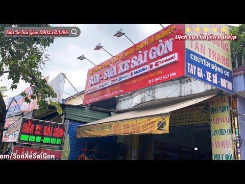 Trung tâm Sơn Sửa Xe Sài Gòn - Chuyên bảo trì, sửa chữa, canh chỉnh nồi, làm mới động cơ, sơn xe máy