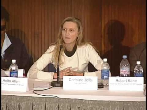 Justice for Hedgehogs: Professor Christine Jolls