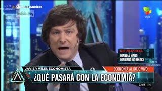 """""""Juro por mi vida que si soy presidente del BCRA lo cierro"""" Javier Milei con Fantino- 18/07/18"""