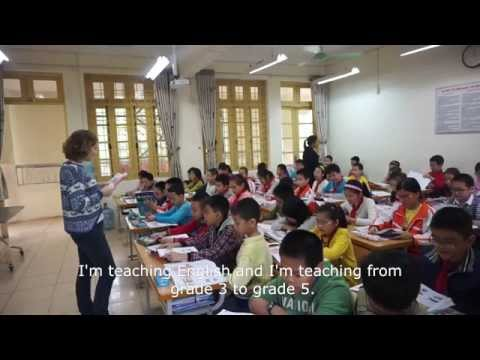 Teaching English Project at Nghia Tan Primary School, Hanoi