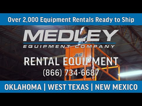 Forklift And Industrial Equipment Rental Fleet | Oklahoma | West Texas | New Mexico