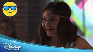 Soy Luna - Valiente Remix (Luna și Simon show pe patine cu rotile). Doar la Disney Channel!