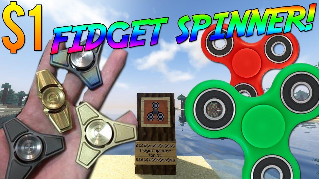 CHEAP $1 FAST FIDGET SPINNER! [Mod] - YouTube
