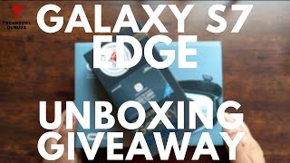 Galaxy S7 Edge Unboxing & Giveaway