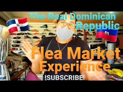 🇩🇴 🇭🇹 Real Dominican Republic Flea Market Up Close!! | Puerto Plata | Sosua 🇭🇹🇩🇴