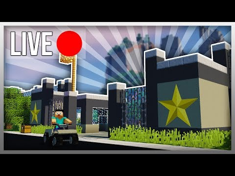 ✔️ EXPANDING MY MINECRAFT TOWN! (Military Base)