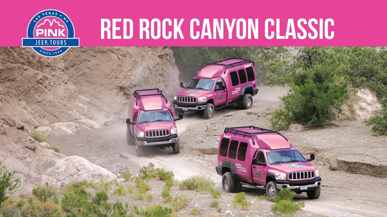 Red Rock Canyon Classic Tour | Pink Jeep Tours   YouTube