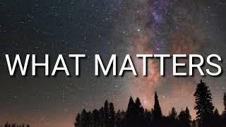 Laura Mvula - What Matters (Lyrics)