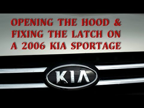 How To Fix A Broken Hood Latch In A Kia Sportage