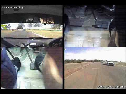 3 Camera view of IP race car at Oran Park. System is called StreetBox Extreme.avi