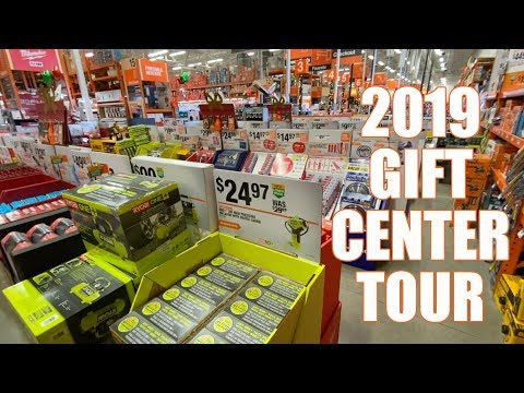 HOME DEPOT Gift Center Tour - Black Friday 2019