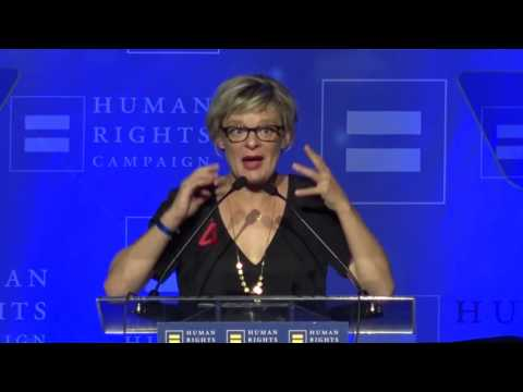 Martha Plimpton Receives the HRC Ally For Equality Award
