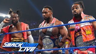 The New Day challenge Randy Orton, Samoa Joe & Elias to a match: SmackDown LIVE, July 16, 2019