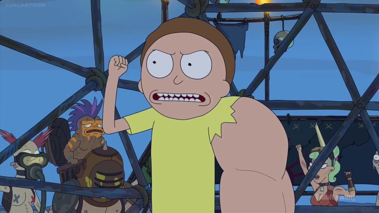 Download Morty and his arm all fighting scenes s3e2