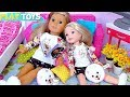 Play Baby Doll Sleepover Pijama Party Toys!