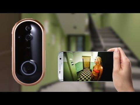 ТОП 5 Видео звонков Wifi с Алиэкспресс  Wifi Видеоглазок 2019
