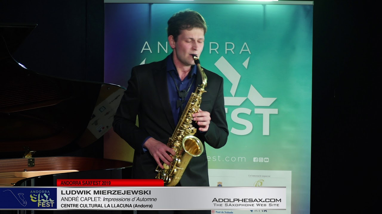 Andorra SaxFest 2019 1st Round   Ludwik Mierzejewski   Impressions d´Automne by Andre Caplet