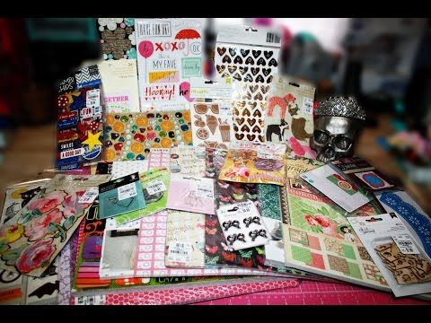 TUESDAY MORNING HAUL!!~ Graphic 45, Dear Lizzy, Anna Griffin, Scrapbook Paper and more!!