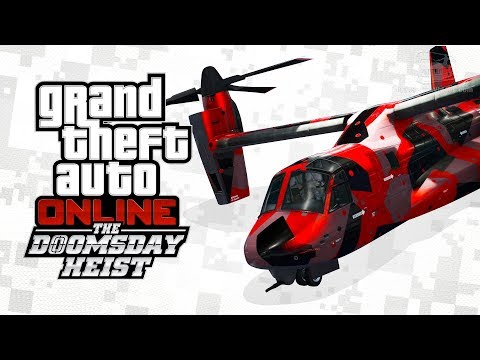 GTA Online - HVY Avenger [The Doomsday Heist]