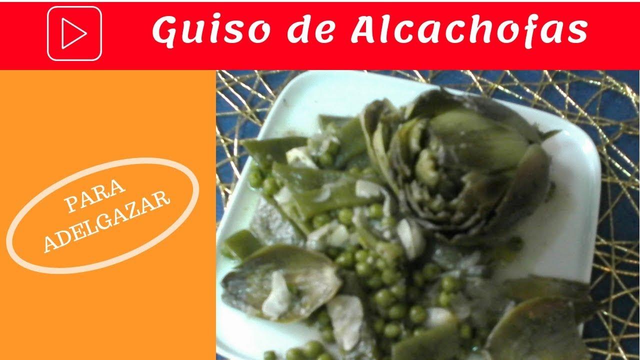 Alcachofa para adelgazar preparacion de salmon