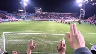 Charleroi - Anderlecht (Ambiance fin de match) Victoire 2-1