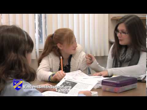 Vincent Smith School - Believe and Achieve  . . . It's Okay to Learn Differently