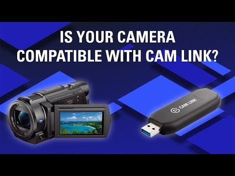 Elgato cam link supported cameras