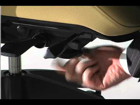 Ergonomic Office Chair Tilt Tension Adjustment
