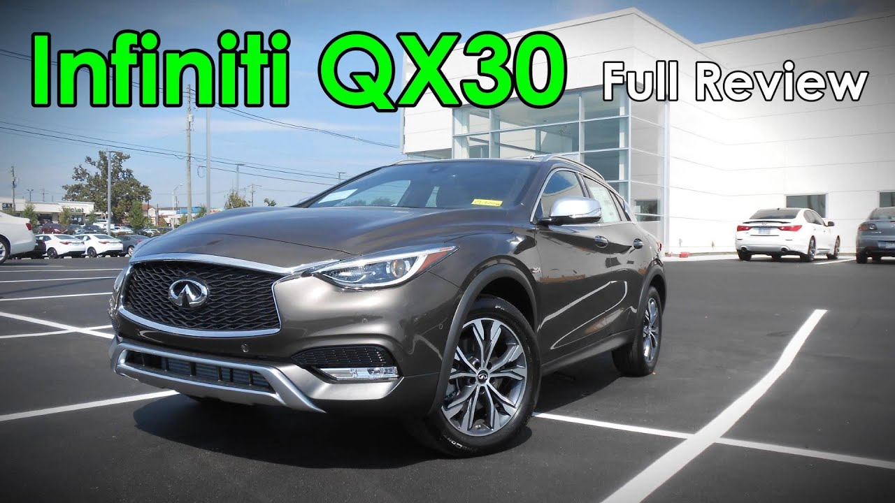 2017 Infiniti Qx30 Full Review Base Luxury Premium Sport Awd You
