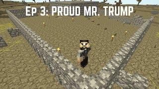 Regrowth - #3: PROUD MR. TRUMP | Modded Survival Minecraft Series