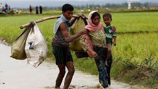 Столкновения и поджоги в Мьянме