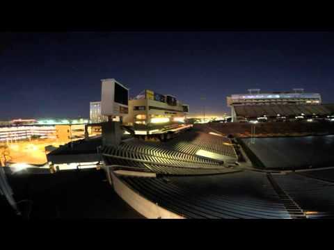 ASU Sun Devil Stadium - GoPro Time-Lapse