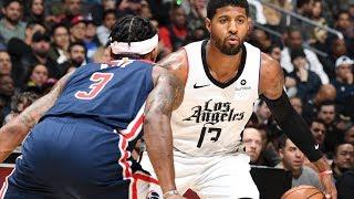 Clippers Score 150 vs Wizards! 82 in 1st Half! 2019-20 NBA Season