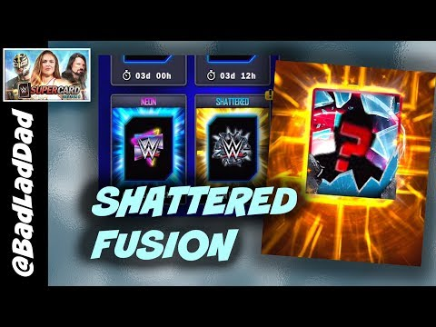 Shattered Fusion, Shattered In General! : WWE SuperCard S5 Ep23
