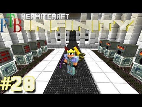 Minecraft Mods - FTB Infinity Ep. 28 - Sub Network Processing !!! ( HermitCraft Modded Minecraft )