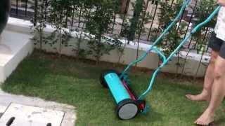 Gardena 4023 hand lawn mower Edging